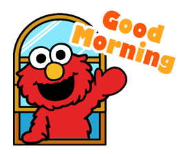 Sesame Street ★ Happy Days sticker #43971