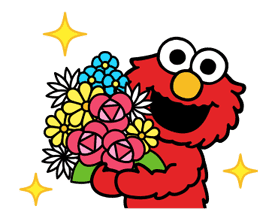 Sesame Street ★ Happy Days sticker #43973