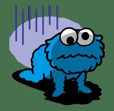 Sesame Street ★ Happy Days sticker #43980