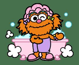 Sesame Street ★ Happy Days sticker #43983