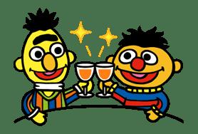 Sesame Street ★ Happy Days sticker #43985