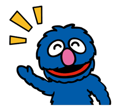 Sesame Street ★ Happy Days sticker #43988
