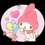 สติ๊กเกอร์ไลน์ My Melody: Sweet Story