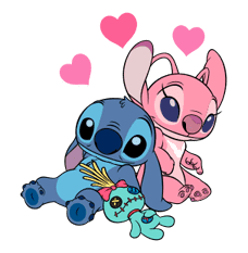 Stitch Returns sticker #51606