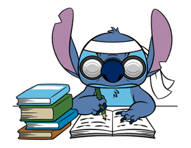 Stitch Returns sticker #51626
