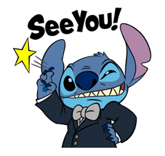 Stitch Returns sticker #51628