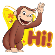 สติ๊กเกอร์ไลน์ Curious George เฮฮาทุกวัน!