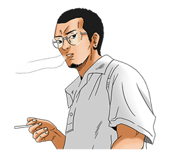 YAMIKIN USHIJIMA-KUN sticker #78653