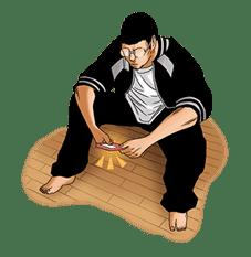 YAMIKIN USHIJIMA-KUN sticker #78663