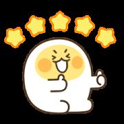 สติ๊กเกอร์ไลน์ Egg boy 3