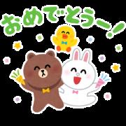 สติ๊กเกอร์ไลน์ Irasutoya × BROWN