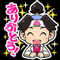 สติ๊กเกอร์ไลน์ Momotaro Dentetsu Sound Stickers