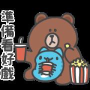 สติ๊กเกอร์ไลน์ BugCat-Capoo × BROWN & FRIENDS Stickers