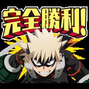 สติ๊กเกอร์ไลน์ My Hero Academia 5