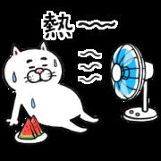 สติ๊กเกอร์ไลน์ Cat of a Bad Face: Animated