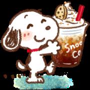 สติ๊กเกอร์ไลน์ Honobono × Snoopy