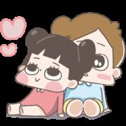 สติ๊กเกอร์ไลน์ CHUCHUMEI-LOVE Full Screen
