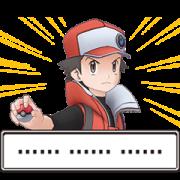 สติ๊กเกอร์ไลน์ Pokemon Trainer Stickers