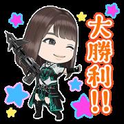 สติ๊กเกอร์ไลน์ Hinatazaka 46 to Fushigi na Toshoshitsu