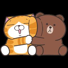 เหมียวซ่า x BROWN & FRIENDS