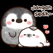 สติ๊กเกอร์ไลน์ Pastel Penguin