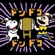 สติ๊กเกอร์ไลน์ Keta-Snoopy