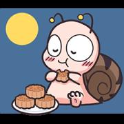 สติ๊กเกอร์ไลน์ Animated Tumurin: Mid-Autumn Festival