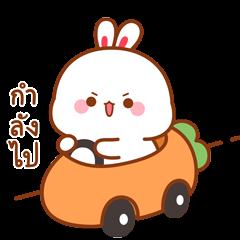 กระต่ายทูจิ ป๊อบอัพสติกเกอร์
