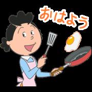 สติ๊กเกอร์ไลน์ Sazae-san Anime Stickers