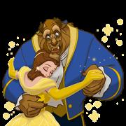 สติ๊กเกอร์ไลน์ Beauty and the Beast (Animated Movie)