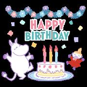 สติ๊กเกอร์ไลน์ Moomin Versatile Event Stickers
