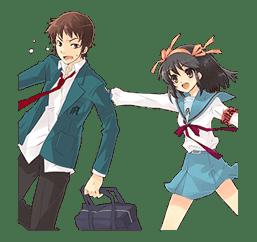 The Melancholy of Haruhi Suzumiya sticker #111075