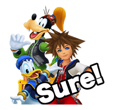KINGDOM HEARTS sticker #153740