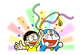 Doraemon: Big G sticker #153781