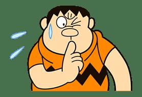 Doraemon: Big G sticker #153794