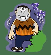 Doraemon: Big G sticker #153806