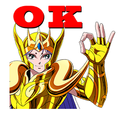 SAINT SEIYA-Knights of the Zodiac sticker #220225