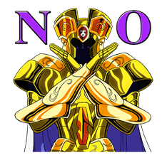 SAINT SEIYA-Knights of the Zodiac sticker #220227