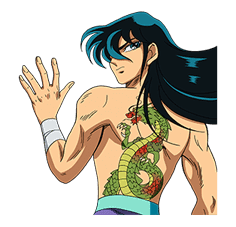 SAINT SEIYA-Knights of the Zodiac sticker #220230