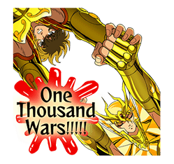 SAINT SEIYA-Knights of the Zodiac sticker #220250