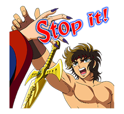 SAINT SEIYA-Knights of the Zodiac sticker #220253