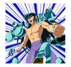 SAINT SEIYA-Knights of the Zodiac sticker #220259