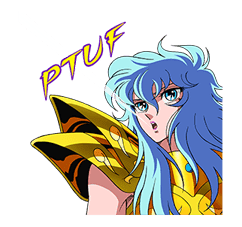 SAINT SEIYA-Knights of the Zodiac sticker #220263