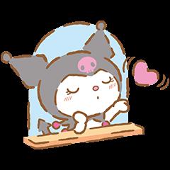 สติ๊กเกอร์ไลน์ We Love Kuromi