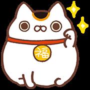 สติ๊กเกอร์ไลน์ Nyanpuku