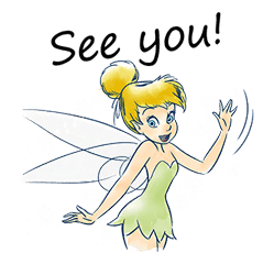 Tinker Bell sticker #476151