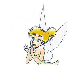 Tinker Bell sticker #476156