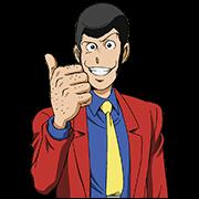 สติ๊กเกอร์ไลน์ Lupin the 3rd