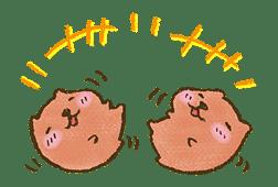 KAPIBARA-SAN & Friends 2 sticker #526119