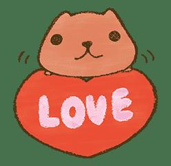 KAPIBARA-SAN & Friends 2 sticker #526121